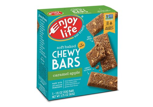 Enjoy Life Foods Chewy Bars Caramel Apple (5x33g)