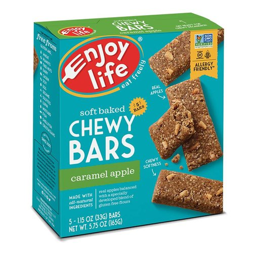 Enjoy Life Foods Chewy Bars Caramel Apple (5x33g)