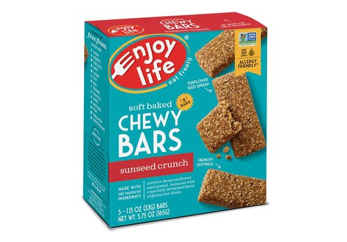 Enjoy Life Foods Chewy Bars Sunseed Crunch (5x33g)