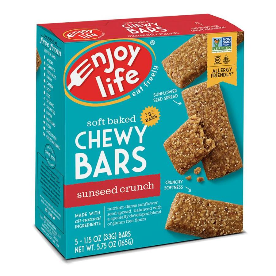 Chewy Bars Sunseed Crunch (5x33g)