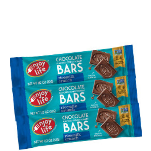 Enjoy Life Foods Chocolate Bar Ricemilk Crunch