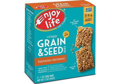 Enjoy Life Foods Grain & Seed Bars Banana Caramel (5x28g)