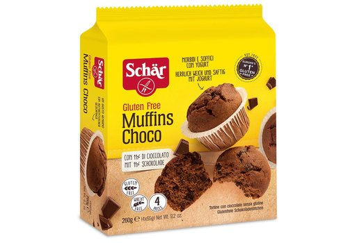 Schär Chocolade Muffins THT (12-06-2019)