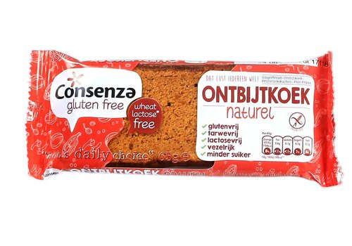 Consenza Ontbijtkoekreep naturel (THT 25-10-2019)