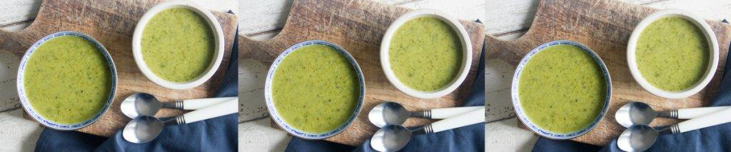 Recept: glutenvrije soep met broccoli en courgette