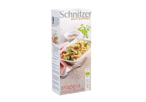 Schnitzer Pasta Spirelli Tricolore Biologisch