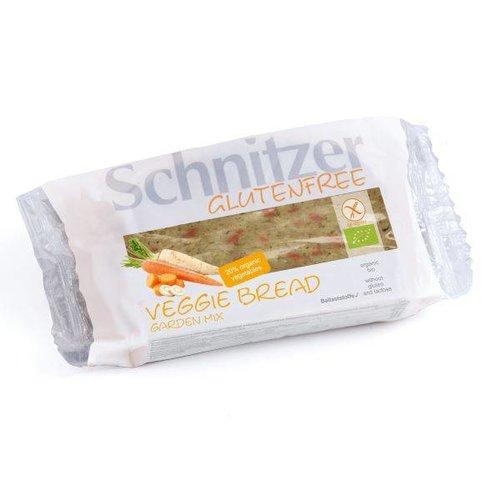 Schnitzer Veggie Bread Garden Mix Biologisch