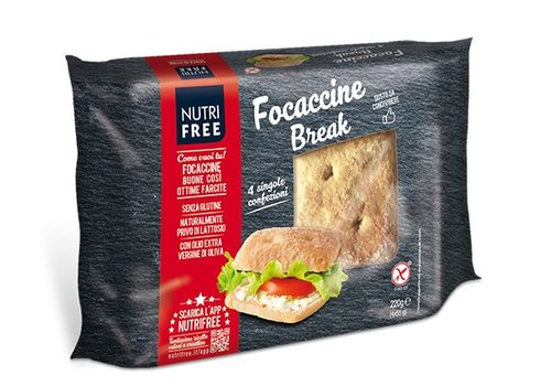 Nutrifree Focaccine Break (Focaccia Broodjes)