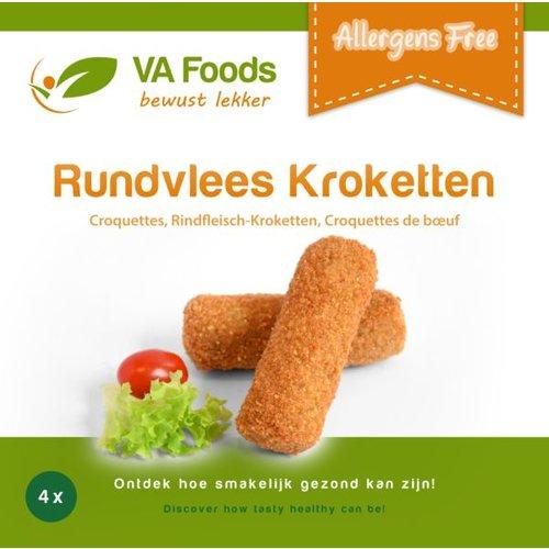 Va Foods Diepvries Rundvleeskroketten 4 Stuks