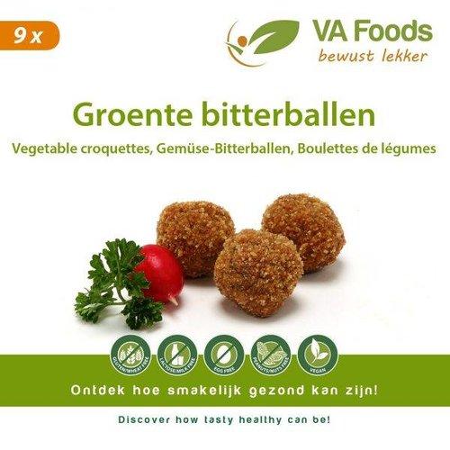 Va Foods Diepvries Groentebitterballen 9 Stuks