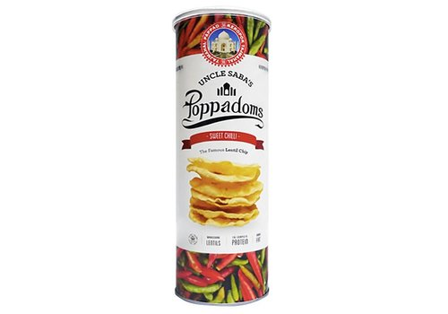 Uncle Saba's Poppadoms Sweet Chilli Lentil Chips