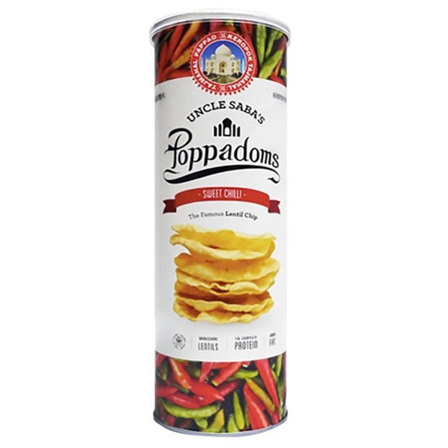 Poppadoms Sweet Chilli Lentil Chips