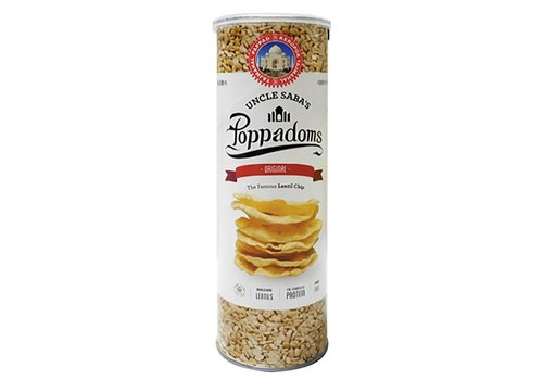 Uncle Saba's Poppadoms Original Lentil Chips