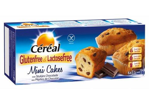 Cereal Mini Cakejes met Stukjes Chocolade 6 Stuks