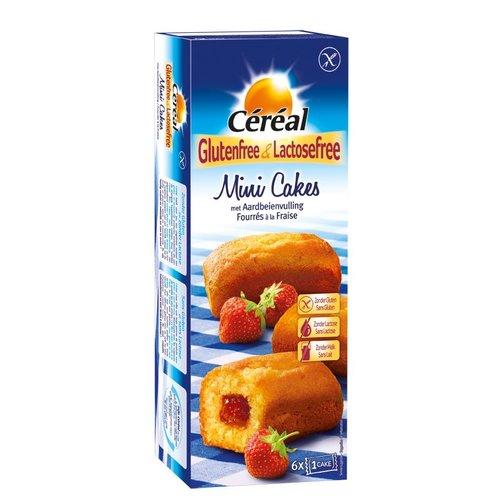 Cereal Mini Cakejes met Aardbeienvulling