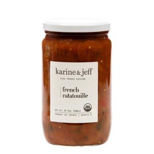 Karine & Jeff Ratatouille met Olijfolie Biologisch