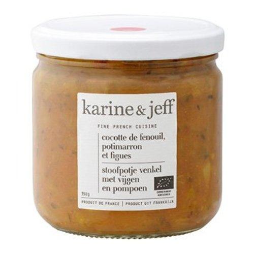 Karine & Jeff Stoofpotje Venkel met Vijgen en Pompoen Biologisch