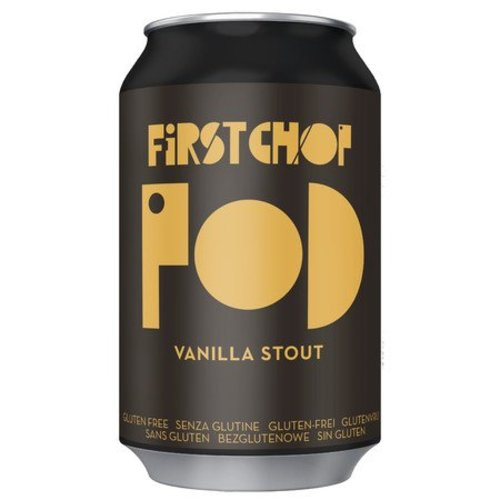 First Chop POD Vanilla Stout