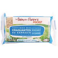 Pocket Boekweit Crackers Zonder  Zout en Suiker Biologisch