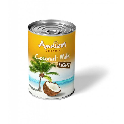 Amaizin Kokosmelk Light 400ml Biologisch
