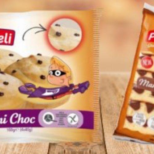 Nieuw! Proceli marmer cake en zoete broodjes met chocolade