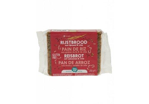Terrasana Rijstbrood met Lijnzaad & Chia Biologisch (THT 28-11-2018)