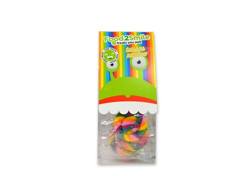 Food2Smile Twisters Rainbow lolly's