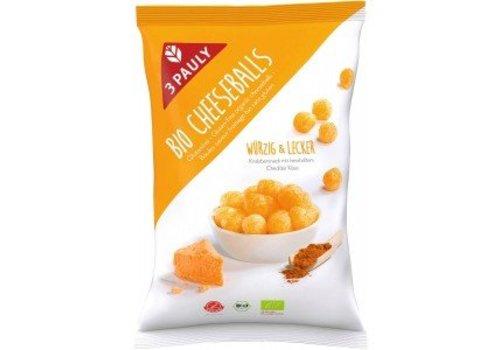 3Pauly Mais snack met kaas-kruidenmix Biologisch