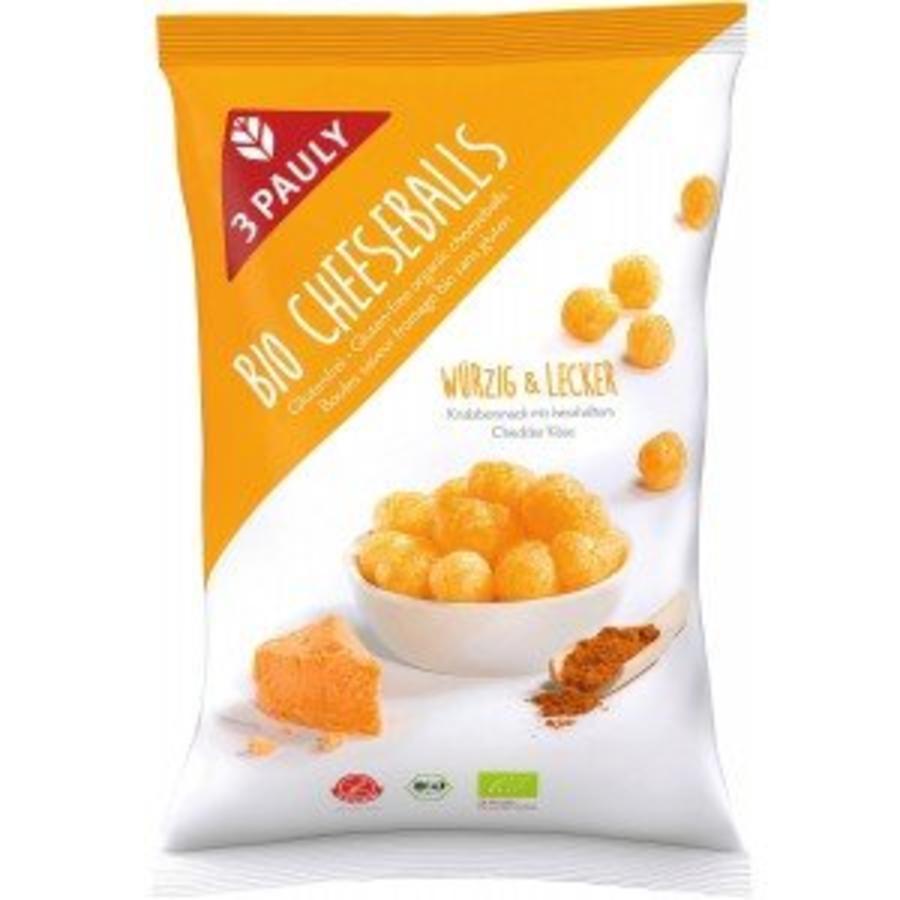 Maïs snack met kaas-kruidenmix Biologisch