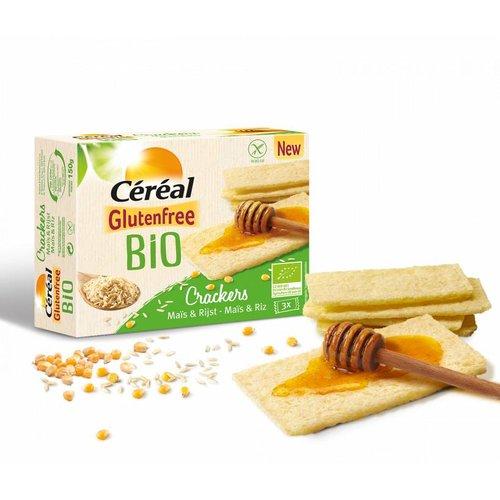 Cereal Mais & Rijst Crackers Biologisch