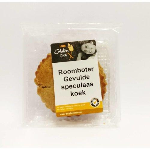 I am glutenfree Roomboter Gevulde Speculaaskoek
