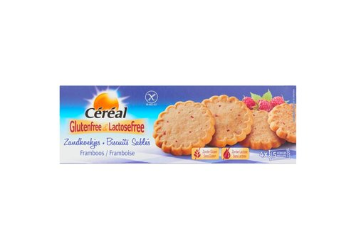 Cereal Zandkoekjes Framboos
