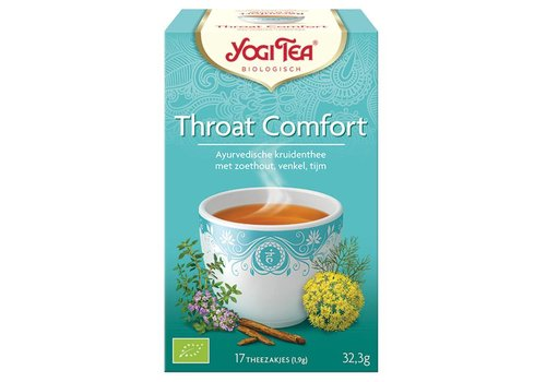 Yogi Tea Throat Comfort thee Biologisch