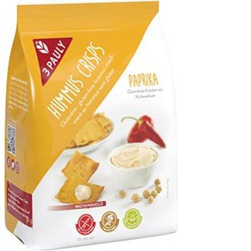 3Pauly Hummus Crisps Paprika crackers