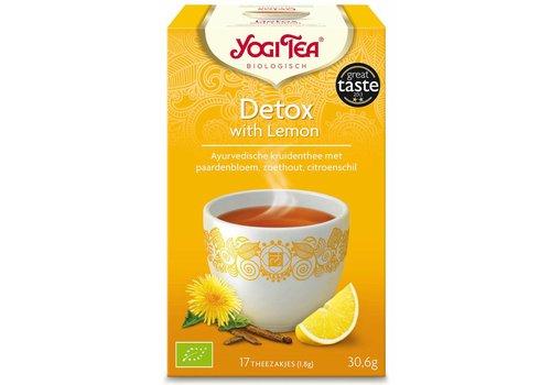 Yogi Tea Detox Citroen Thee Biologisch