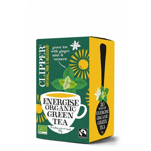 Clipper Energise Organic Green Tea Biologisch