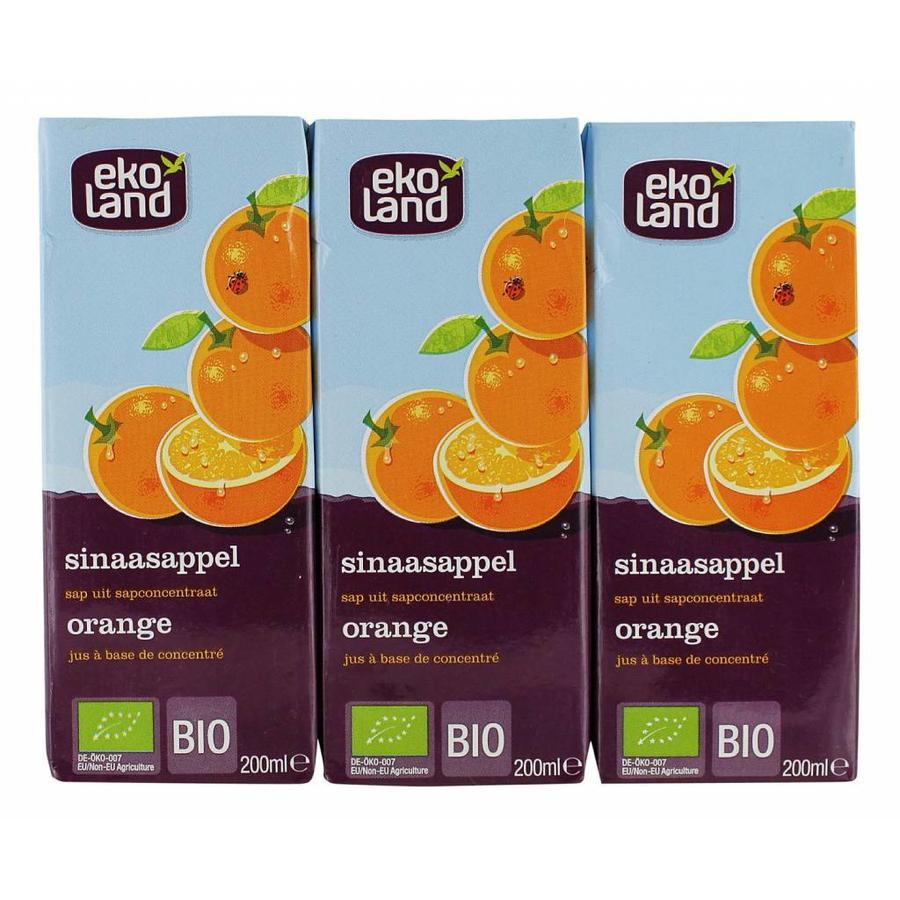 Sinaasappel sap 3-pack Biologisch