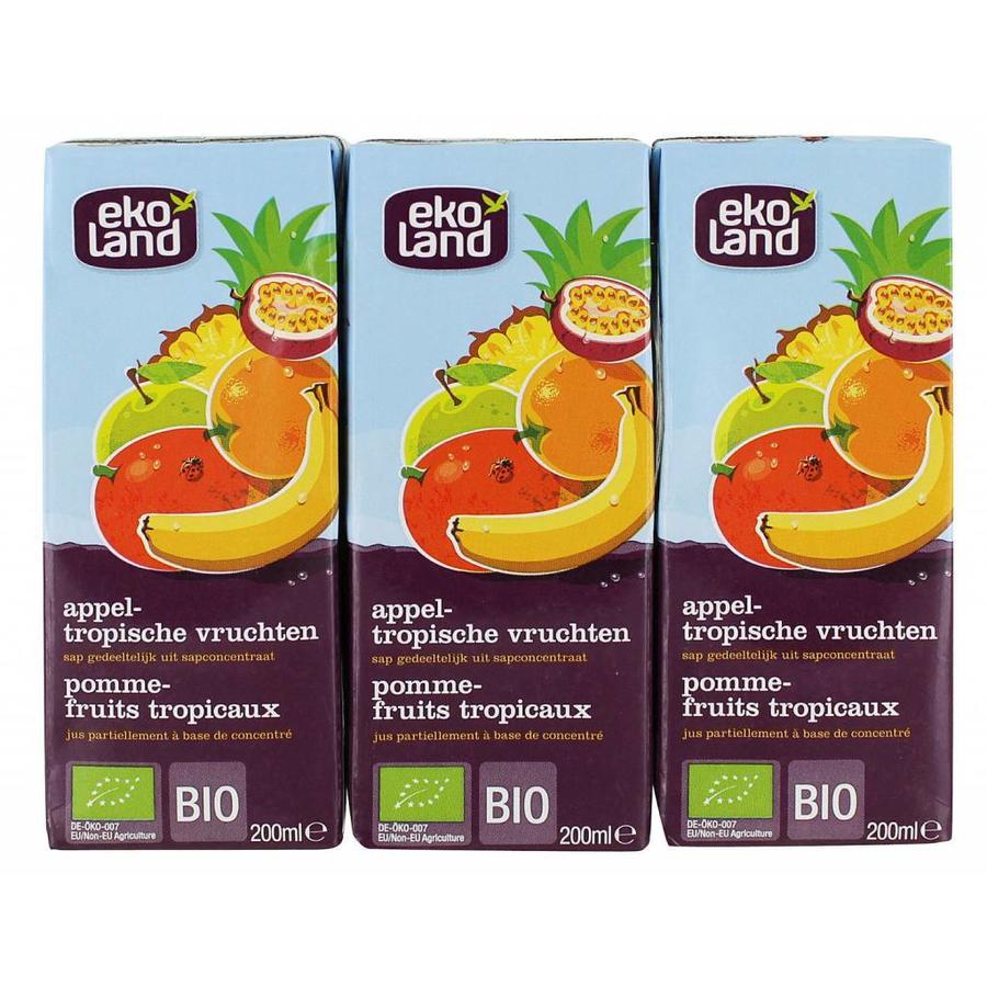 Appel Tropische Vruchten 3-pack Biologisch