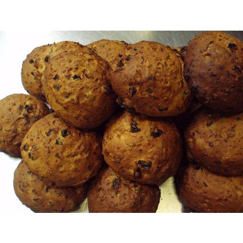Marjan's Bakery Diepvries Krentenbol 3-stuks