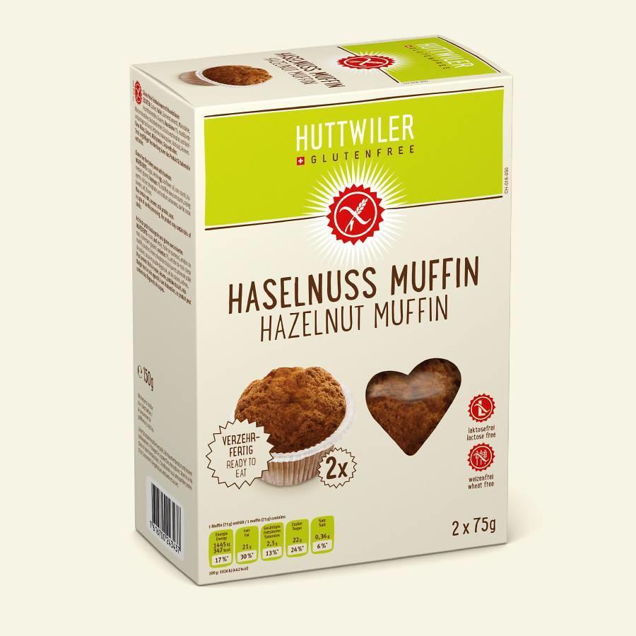 Hazelnoot muffins