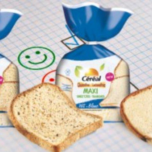 Nieuw en speciaal voor jou getest: Céréal meergranen- en wit maxi brood!