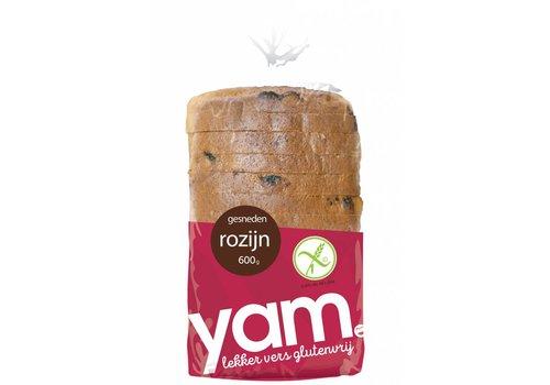 YAM Rozijnenbrood
