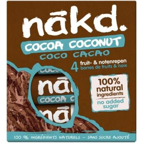 Nakd Cocoa Coconut bar 4-pack