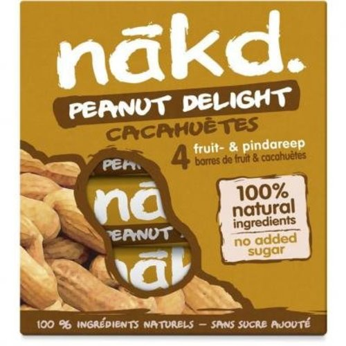 Nakd Peanut Delight Bar 4-Pack