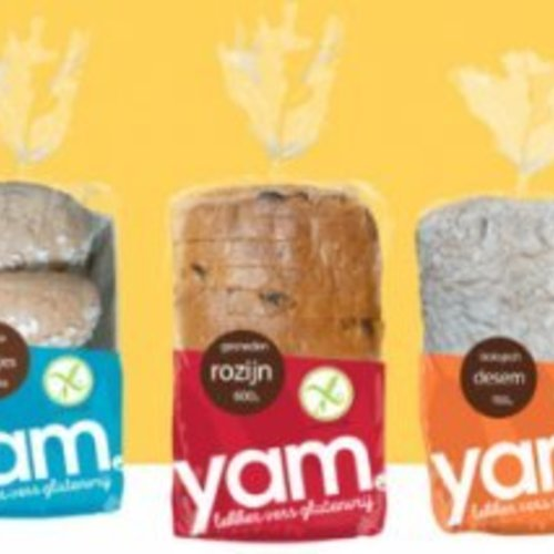 Het YAM brood in een nieuwe verpakking!