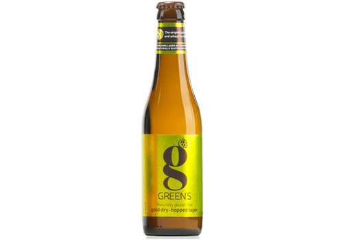 Green's Gold Dry-Hopped Lager 4%