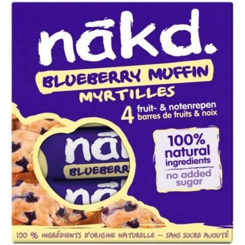 Nakd Blueberry Muffin 4-pack