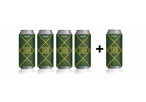 Sax Glutenvrij Bier 440ML: 4 +1 Gratis!