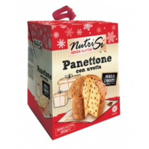 Nutrifree Panettone con uvetta (Kerstbrood met Rozijnen)