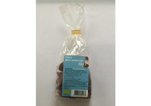 Katjang Mini Melkchocolade Lettertjes Biologisch